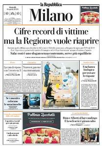 la Repubblica Milano - 16 Aprile 2020