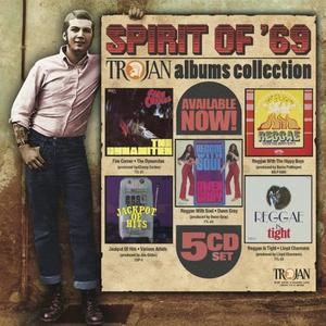 VA - Spirit Of '69: The Trojan Albums Collection (2019)