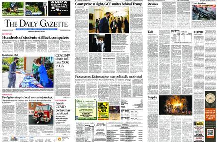 The Daily Gazette – September 23, 2020