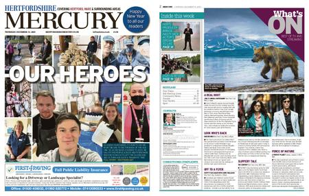 Hertfordshire Mercury – December 31, 2020
