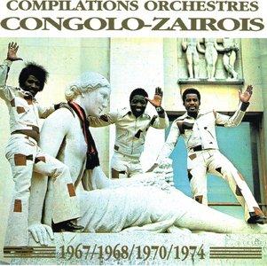 Congolo-Zairois 67,68,70 & 74  (1993)