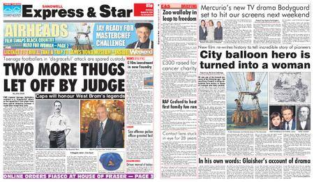 Express and Star Sandwell Edition – August 18, 2018