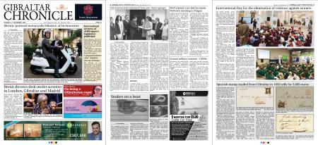 Gibraltar Chronicle – 27 November 2018