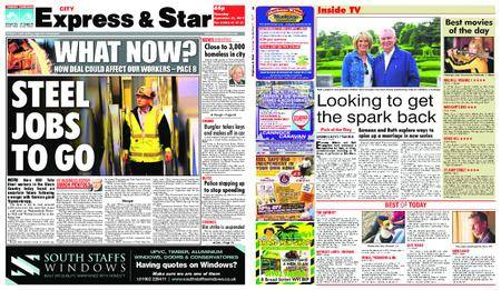 Express and Star City Edition – September 21, 2017