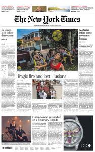 International New York Times - 8 April 2019