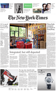 International New York Times - 03 August 2019