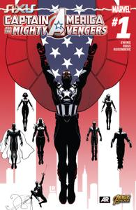 AXIS series 3967 029 Captain America and the Mighty Avengers 001 2015 Digital Zone