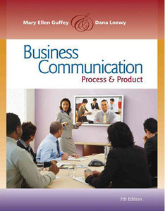 Business Communication: Process and Product (7th Edition) (repost)