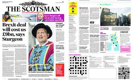 The Scotsman – November 28, 2018