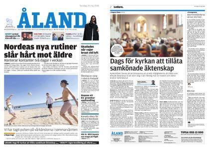 Ålandstidningen – 24 maj 2018