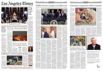 Los Angeles Times – September 26, 2020