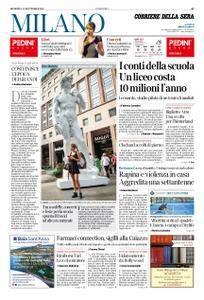 Corriere della Sera Milano – 23 settembre 2018