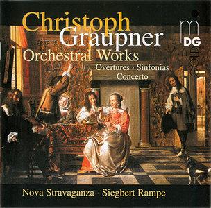 """Christoph Graupner - Orchestral Works Vol. 1 (2002, MDG """"Gold"""" # 341 1121-2) [RE-UP]"""