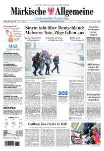 Märkische Allgemeine Luckenwalder Rundschau - 19. Januar 2018