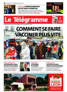 Le Télégramme Ouest Cornouaille – 06 avril 2021
