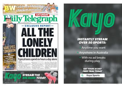 The Daily Telegraph (Sydney) – December 22, 2018