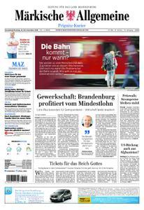Märkische Allgemeine Prignitz Kurier - 22. Dezember 2018