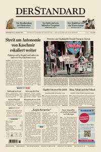 Der Standard – 08. August 2019