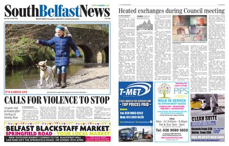 South Belfast News – April 08, 2021