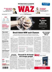 WAZ Westdeutsche Allgemeine Zeitung Gelsenkirchen - 22. März 2019