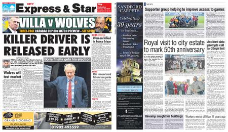 Express and Star City Edition – October 30, 2019