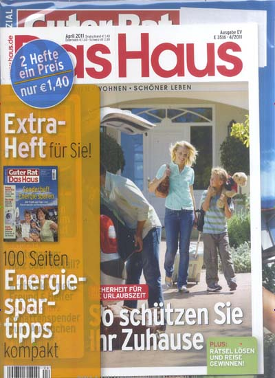 Das Haus Magazin April No 04 2011 (Repost)