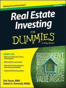 Real Estate Investing For Dummies, 3 edition