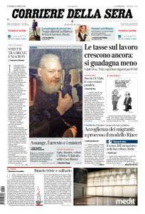 Corriere della Sera - 12 Aprile 2019