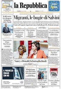 la Repubblica - 1 Novembre 2019