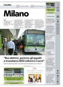 la Repubblica Milano - 13 Luglio 2018