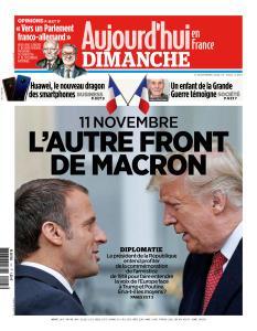 Aujourd'hui en France du Dimanche 11 Novembre 2018