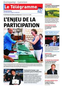 Le Télégramme Guingamp – 26 mai 2019