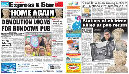 Express and Star Sandwell Edition – July 17, 2019