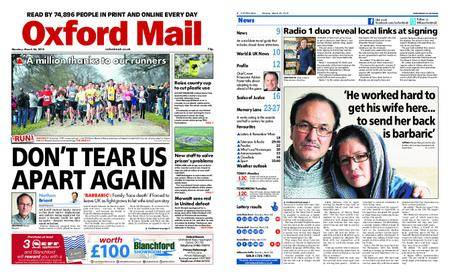 Oxford Mail – March 26, 2018