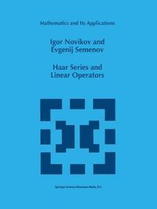 Haar Series and Linear Operators