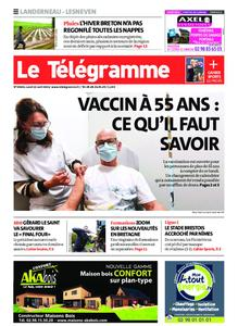 Le Télégramme Landerneau - Lesneven – 12 avril 2021