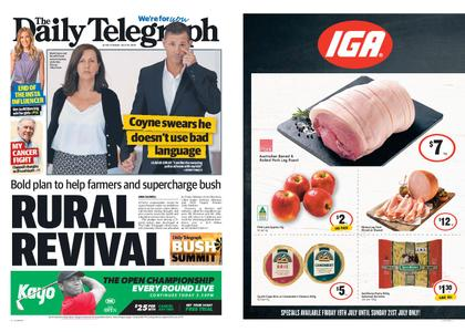 The Daily Telegraph (Sydney) – July 19, 2019