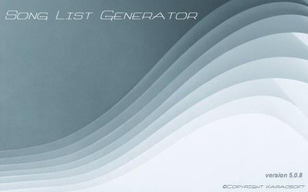 Karaosoft Song List Generator 5.1.2