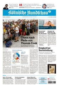 Kölnische Rundschau Wipperfürth/Lindlar – 24. September 2019