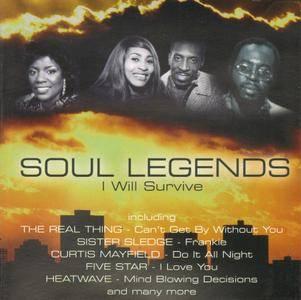 VA - Soul Legends - I Will Survive (2004)