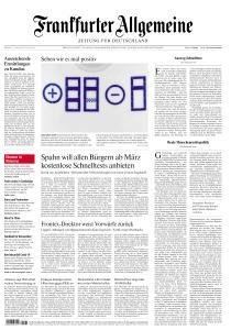 Frankfurter Allgemeine Zeitung - 17 Februar 2021
