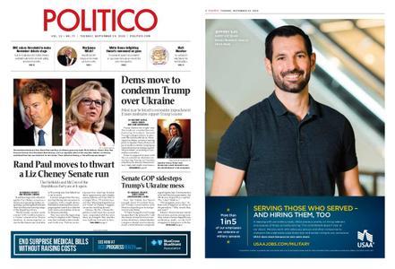 Politico – September 24, 2019