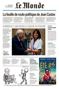 Le Monde du Mardi 7 Juillet 2020