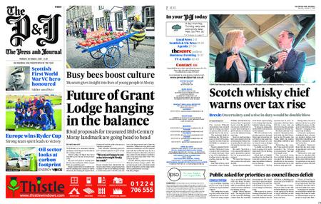 The Press and Journal Moray – October 01, 2018