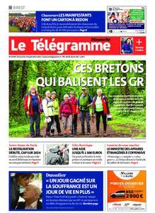 Le Télégramme Brest Abers Iroise – 19 septembre 2021
