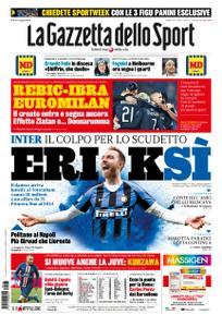 La Gazzetta dello Sport Bergamo – 25 gennaio 2020