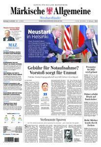 Märkische Allgemeine Westhavelländer - 17. Juli 2018