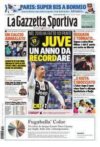 La Gazzetta dello Sport Sicilia – 30 dicembre 2018