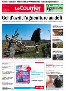 Le Courrier de l'Ouest Cholet – 14 avril 2021