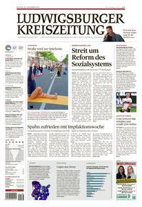 Ludwigsburger Kreiszeitung LKZ - 20 September 2021